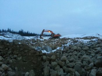 gravel hauling Services in Alberta