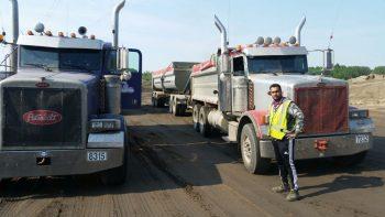 gravel hauling services Edmonton